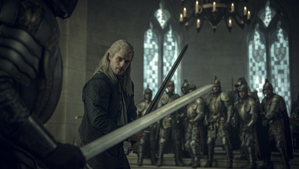 Henry Cavill in 'The Witcher.' Photo: Katalin Vermes/Netflix