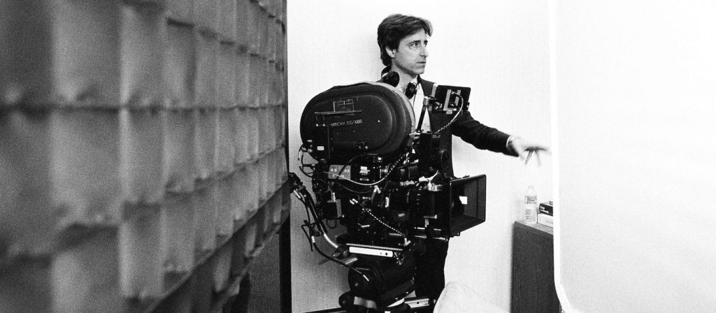 Writer/director Noah Baumbach on the set of 'Marriage Story.' Photo: Wilson Webb/Netflix.