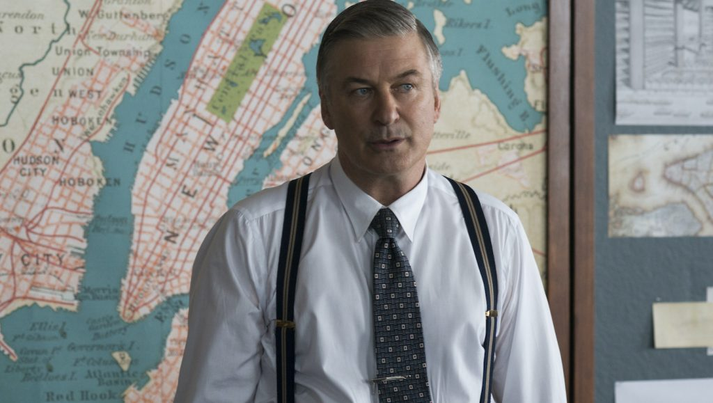 "Caption: ALEC BALDWIN as Moses Randolph in Warner Bros. Pictures' drama ""MOTHERLESS BROOKLYN,"" a Warner Bros. Pictures release. Photo Credit: Glen Wilson"