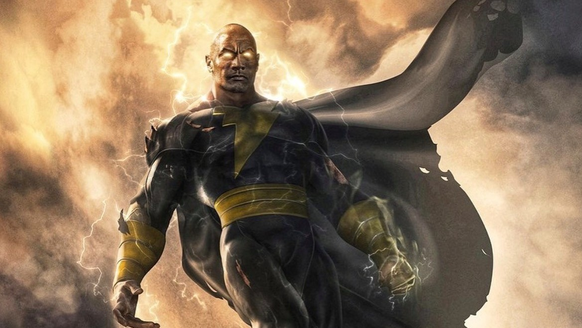 The Rock as Black Adam. Courtesy of Bosslogic and Jim Lee.