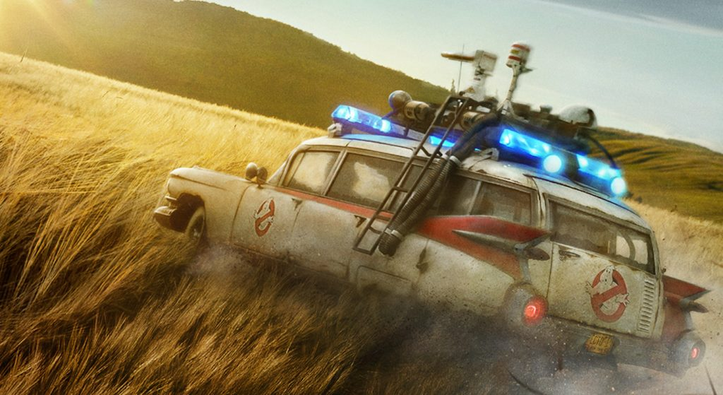 The theatrical poster for Ghostbusters: Afterlife. Courtesy Sony Pictures