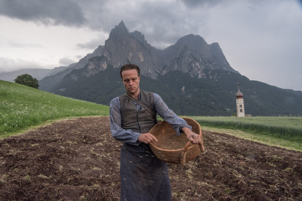 August Diehl in the film A HIDDEN LIFE. Photo by Reiner Bajo. © 2019 Twentieth Century Fox Film Corporation All Rights Reserved