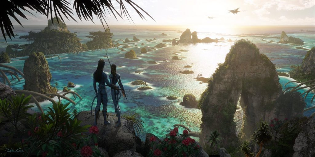 Concept art for James Cameron's 'Avatar' sequels. Courtesy 20th Century Fox/Walt Disney Studios