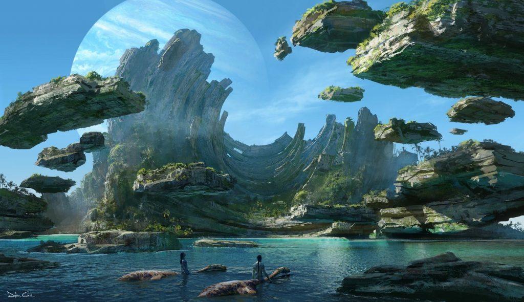Concept art for James Cameron's 'Avatar' sequels. Courtesy 20th Century Fox/Walt Disney Studios