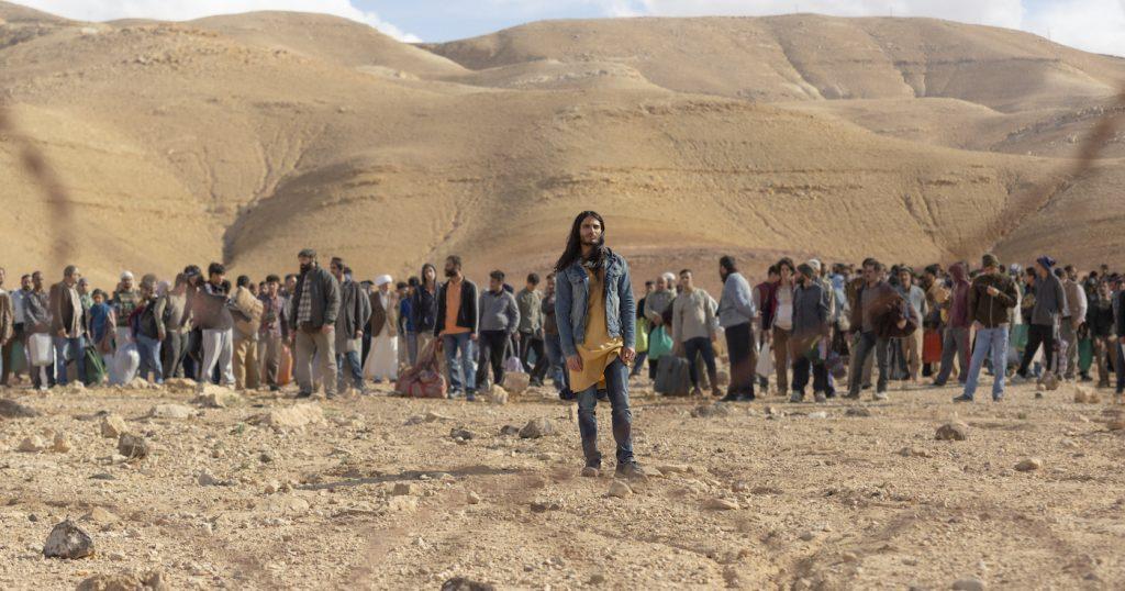 Mehdi Dehbi in MESSIAH. Photo by Hiba Judeh/Netflix