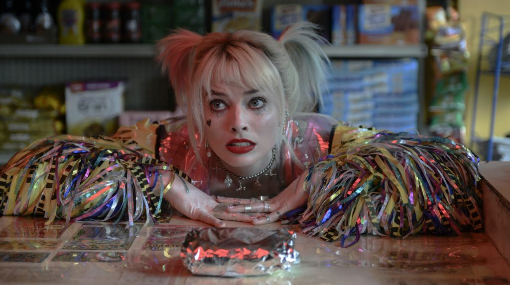 "Caption: MARGOT ROBBIE as Harley Quinn in Warner Bros. Pictures' ""BIRDS OF PREY (AND THE FANTABULOUS EMANCIPATION OF ONE HARLEY QUINN),"" a Warner Bros. Pictures release. Photo Credit: Claudette Barius/ & © DC Comics"
