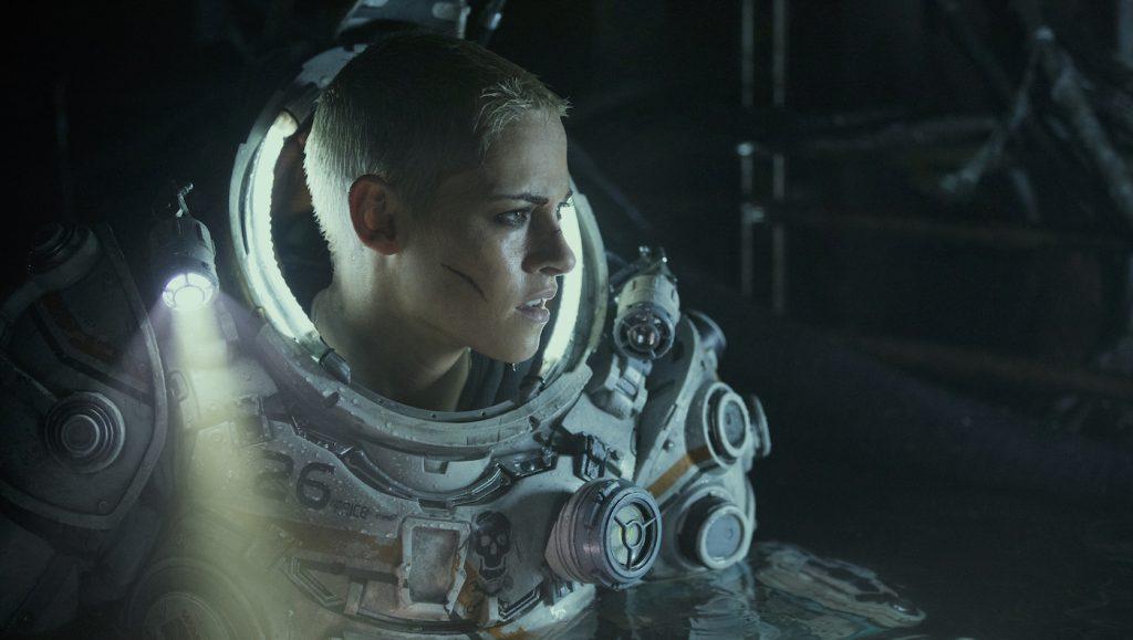 """Kristen Stewart stars in Twentieth Century Fox's """"Underwater"""". Photo Credit: Alan Markfield"""