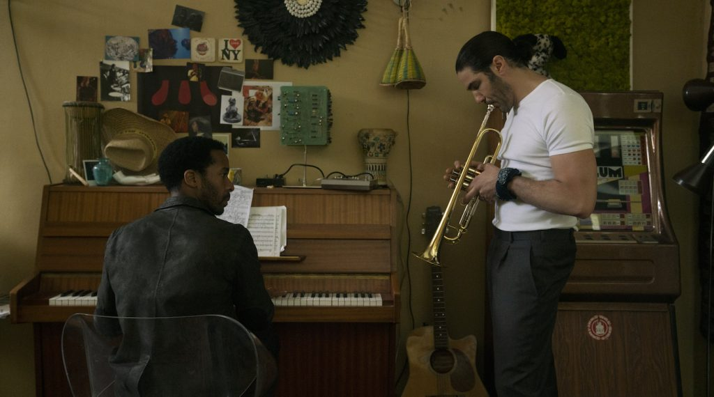 L-r: André Holland and Tahar Rahim in 'The Eddy.' Photo by Lou Faulon/Netflix.