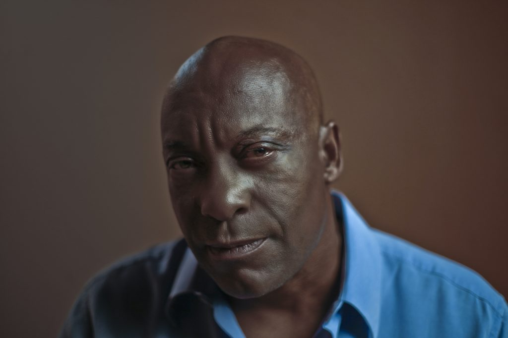 John Singleton in 'They've Gotta Have Us.' Photo credit: Photo Credit: Simon Frederick. Courtesy Array/Netflix.