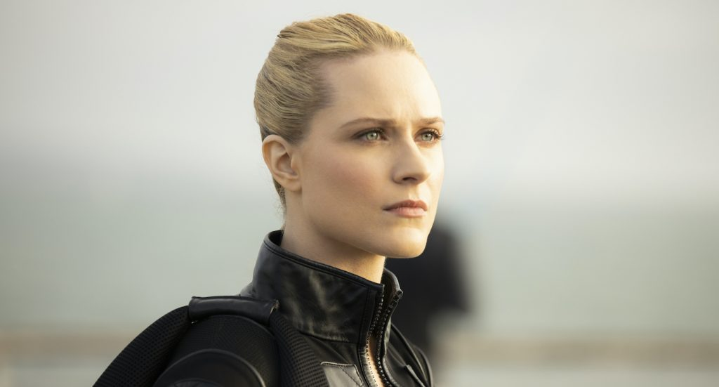 Evan Rachel Wood in 'Westworld,' season 3. Photograph by John P. Johnson/HBO