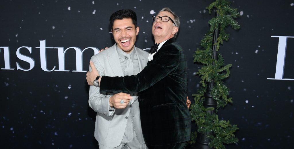 NEW YORK, NEW YORK - OCTOBER 29: (L-R) Henry Golding and Director and Producer Paul Feig attend the Universal Pictures Premiere of Last Christmas at AMC Lincoln Square on October 29, 2019 in New York City. (Photo by Dimitrios Kambouris/Getty Images for Universal Pictures)