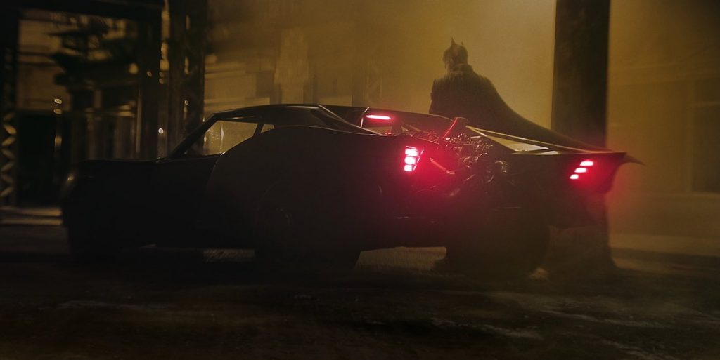 An image from writer/director Matt Reeves  'The Batman.' Courtesy Reeves/Warner Bros.