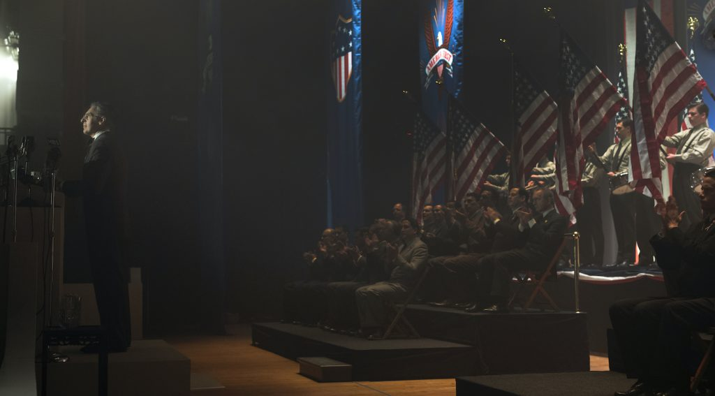 John Turturro is Rabbi Lionel Bengelsdorf in 'The Plot Against America.'  Photo by Michele K. Short/HBO