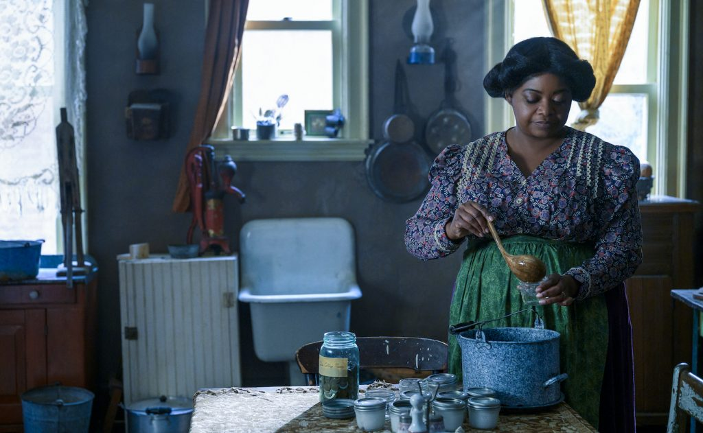 Octavia Spencer in 'Self Made.' Photo by Amanda Matlovich/Netflix.