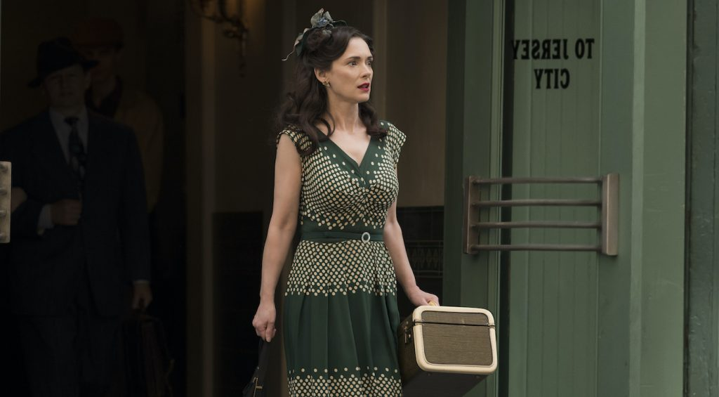 Winona Ryder is Evelyn in 'The Plot Against America.' Photograph by Michele K. Short/HBO