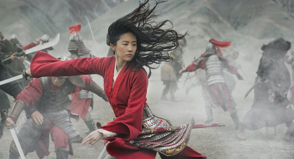 Disney's MULAN..Mulan (Yifei Liu). Photo: Jasin Boland. © 2019 Disney Enterprises, Inc. All Rights Reserved.