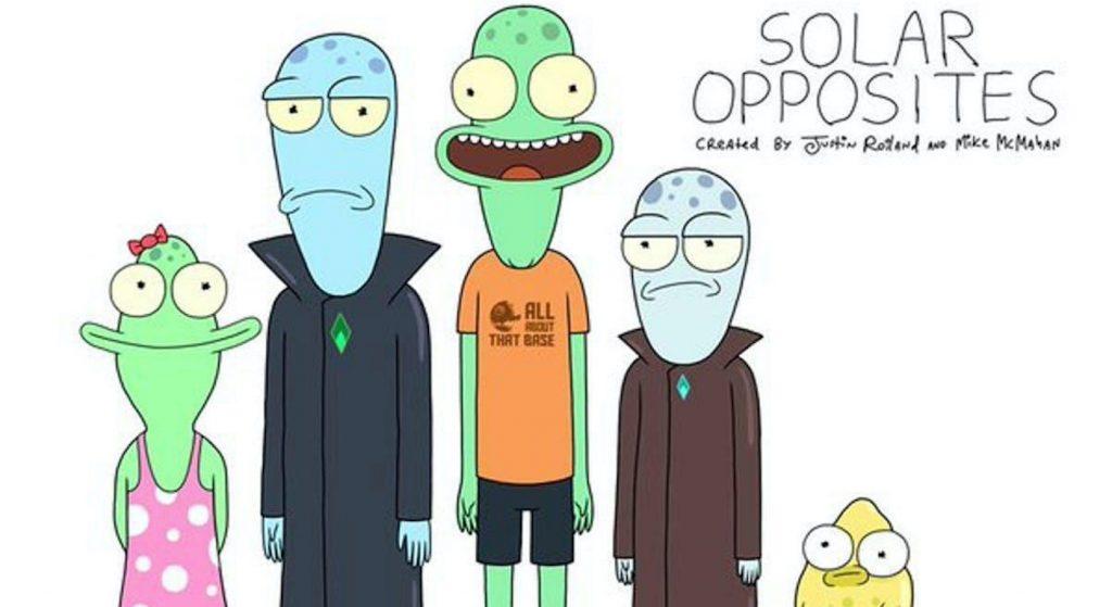 'Solar Opposites.' Courtesy Hulu