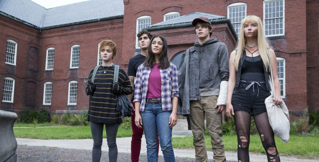 "Maisie Williams, Henry Zaga, Blu Hunt, Charlie Heaton and Anya Taylor-Joy in ""The New Mutants."" © 2020 Twentieth Century Fox Film Corporation/Walt Disney Studios"