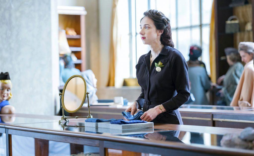 Zoe Kazan is Elizabeth Levin. Photograph by Michele K. Short/HBO