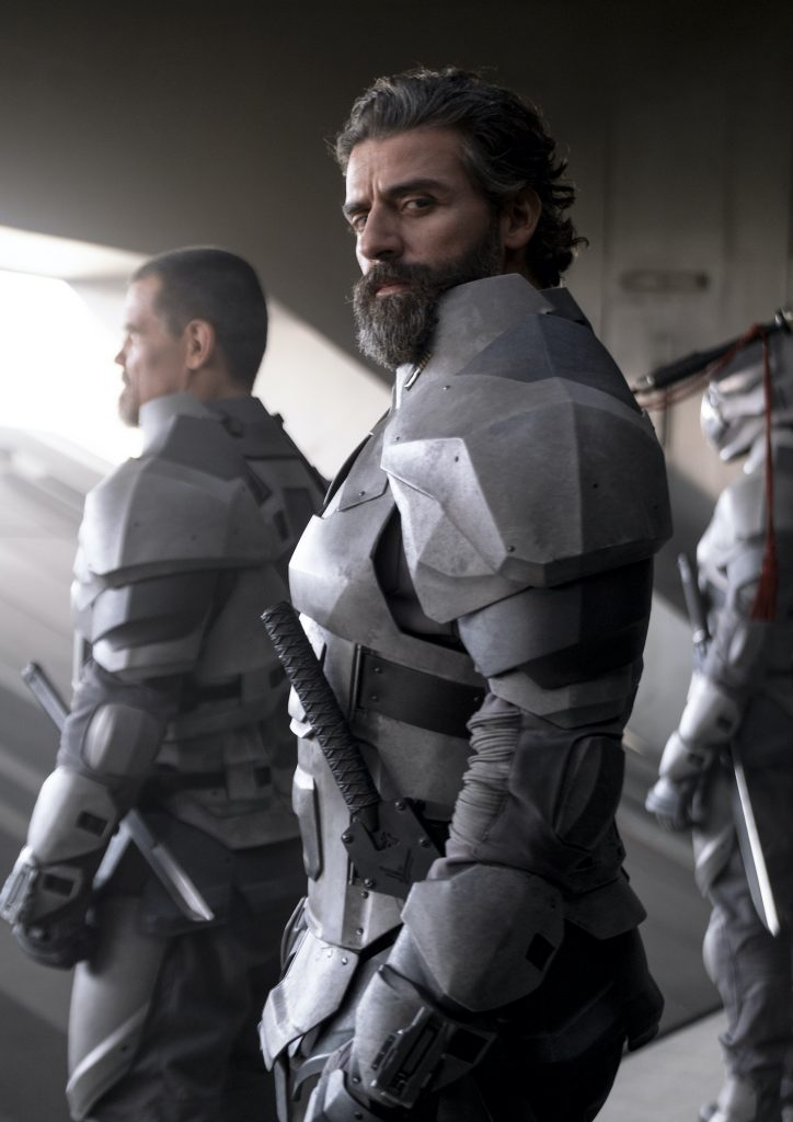 "Caption: OSCAR ISAAC as Duke Leto Atreides in Warner Bros. Pictures and Legendary Pictures' action adventure ""DUNE,"" a Warner Bros. Pictures release. Photo Credit: Chiabella James"