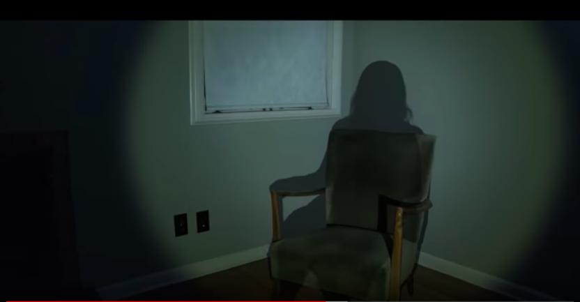 A still image from David F. Sandberg's short horror film 'Shadowed.' Courtesy David F. Sandberg.
