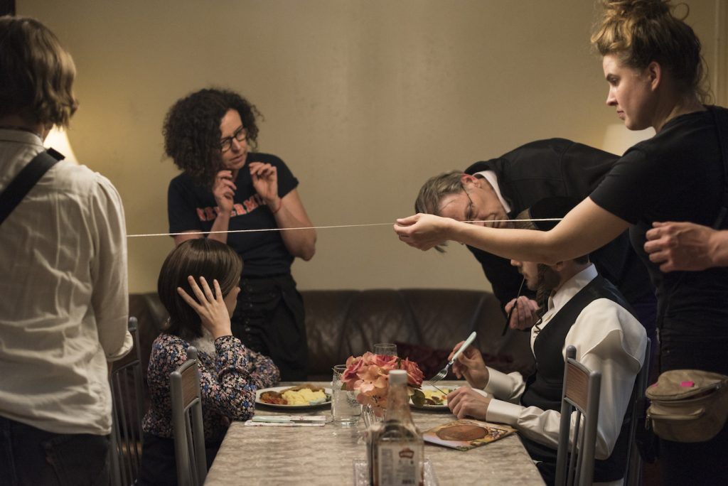 L-r: Shira Haas, Maria Schrader, and Amit Rahav. Photo by Anika Molnar/Netflix