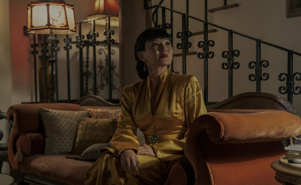 OLLYWOOD: MICHELLE KRUSIEC as ANNA MAY WONG in Episode 102 of HOLLYWOOD Cr. SAEED ADYANI/NETFLIX © 2020