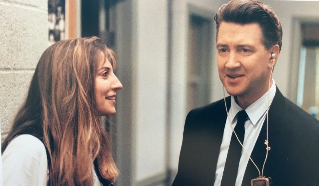 Lesli Linka Glatter and David Lynch