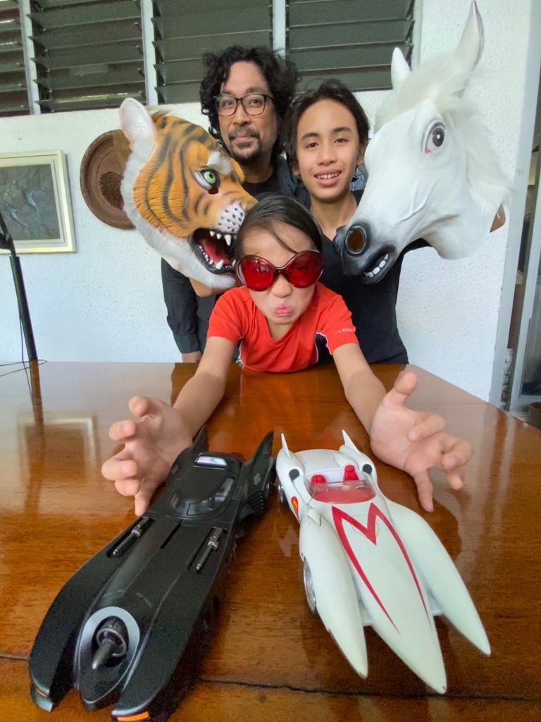 Keith Sicat, his sons, and the makings of a new film project.
