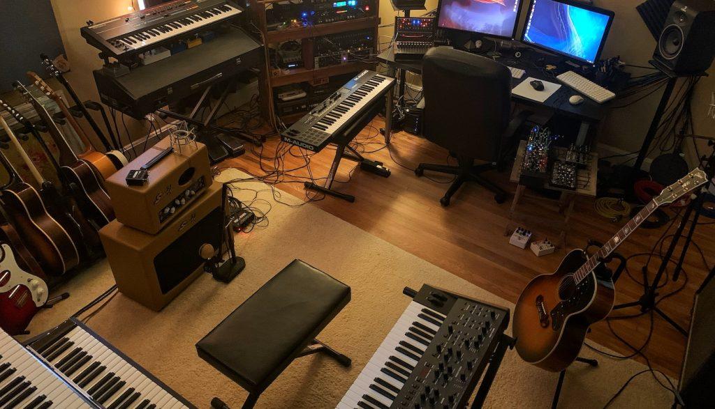 Stephens' studio