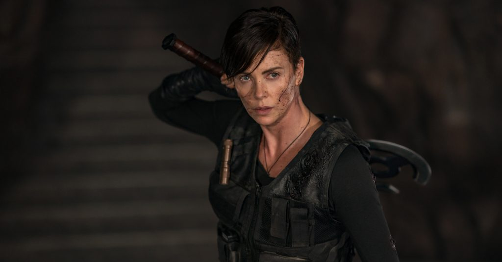 "THE OLD GUARD - Charlize Theron as ""Andy."
