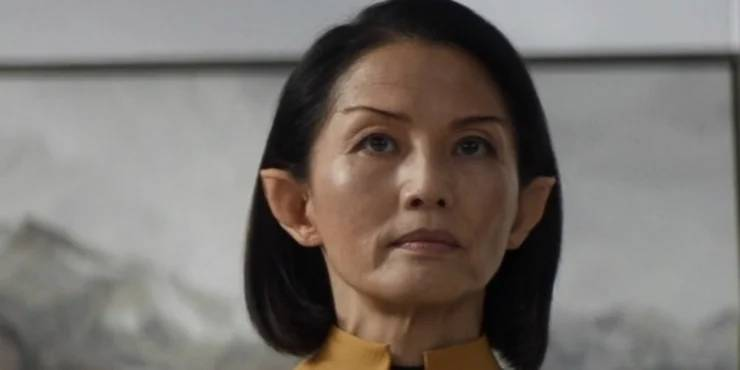 Tamlyn Tomita as Commodore Oh of the the CBS All Access series STAR TREK: PICARD. Photo Cr: Best Possible Screengrab/CBS 2019 CBS Interactive, Inc. All Rights Reserved.