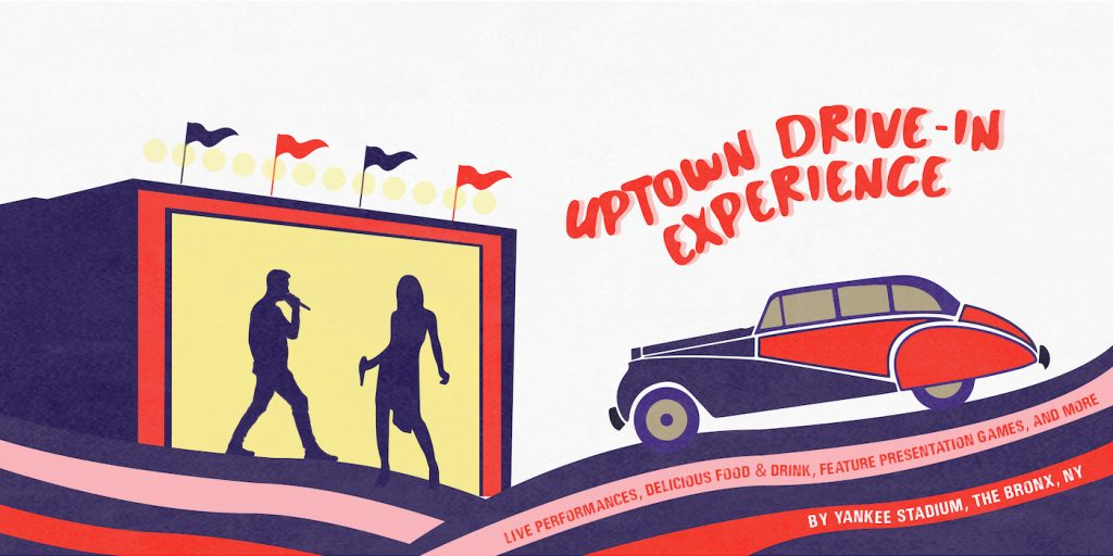 Uptown Drive-in Experience. Courtesy MASC Hospitality Group