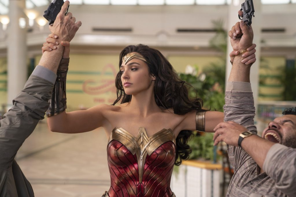 "Caption: GAL GADOT as Wonder Woman in Warner Bros. Pictures' action adventure ""WONDER WOMAN 1984,"" a Warner Bros. Pictures release. Photo Credit: Clay Enos/ ™ & © DC Comics"