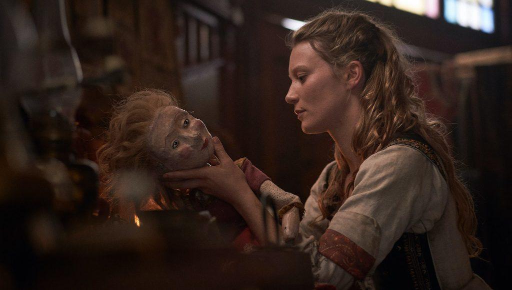 Mia Wasikowska in 'Judy & Punch.' Courtesy Samuel Goldwyn Films.