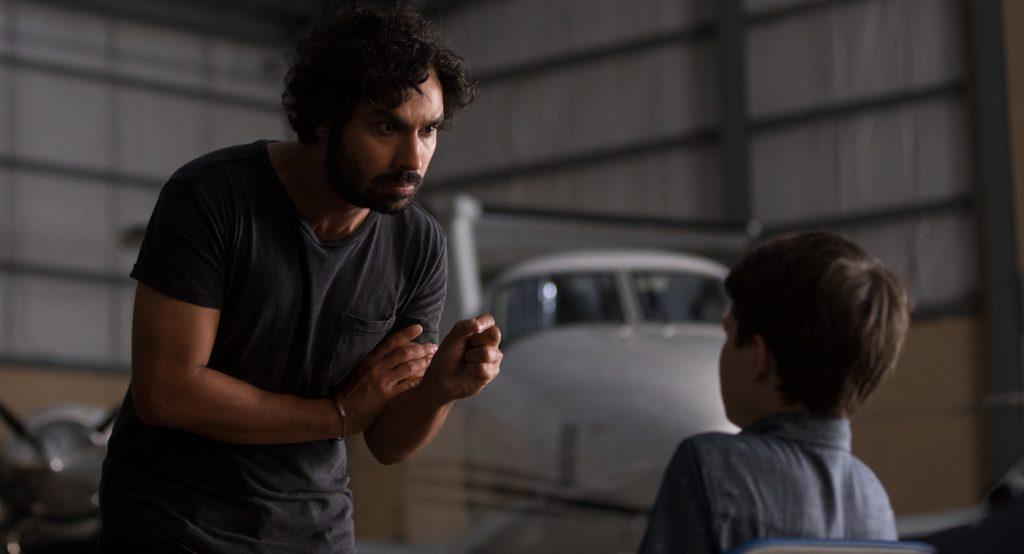 L-r: Kunal Nayyar and Gabriel Bateman in 'Think Like A Dog.' Courtesy Lionsgate.