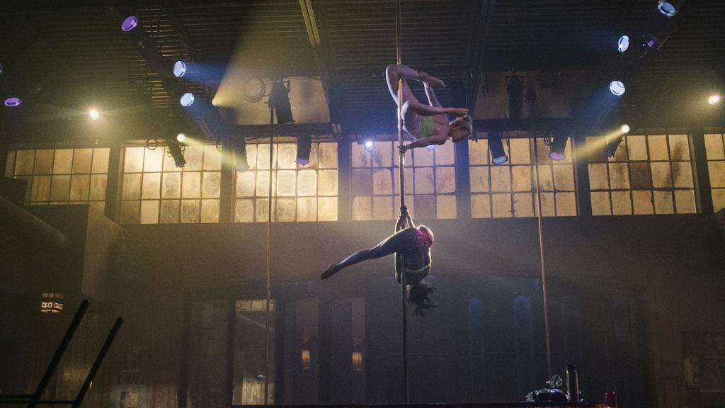 Real pole dancing adds to the veracity of P-Valley. Courtesy Starz.