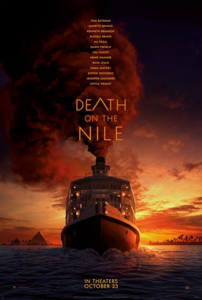 Death on the Nile theatrical poster.