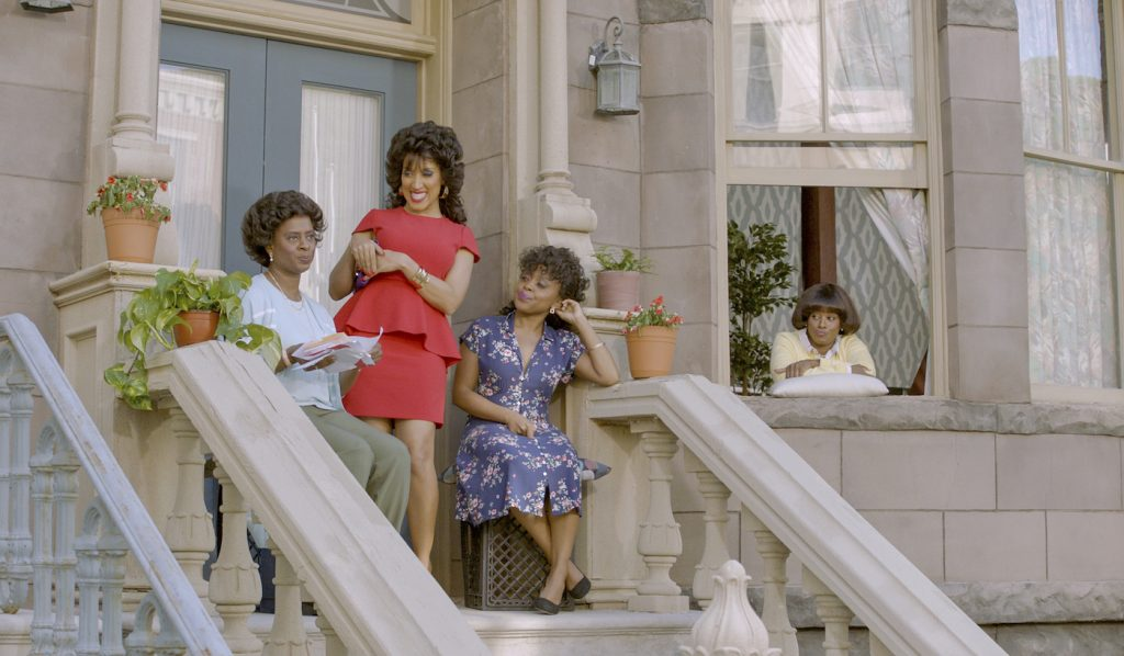 Holly Walker, Robin Thede, Quinta Brunson, Daniele Gaither in 'Black Lady Sketch Show.' Courtesy HBO