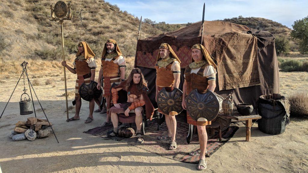 "Utilizing Southern California for the Egyptian portion of the ""Bad Blood"" episode. Photo credit: on-set dresser, Zander Fleschko."