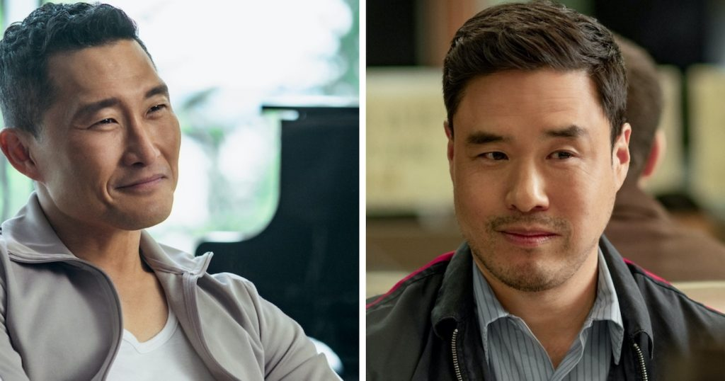 L-r: Daniel Dae Kim and Randall Park in 'Always Be My Maybe.' Photo by Ed Araquel / Netflix.