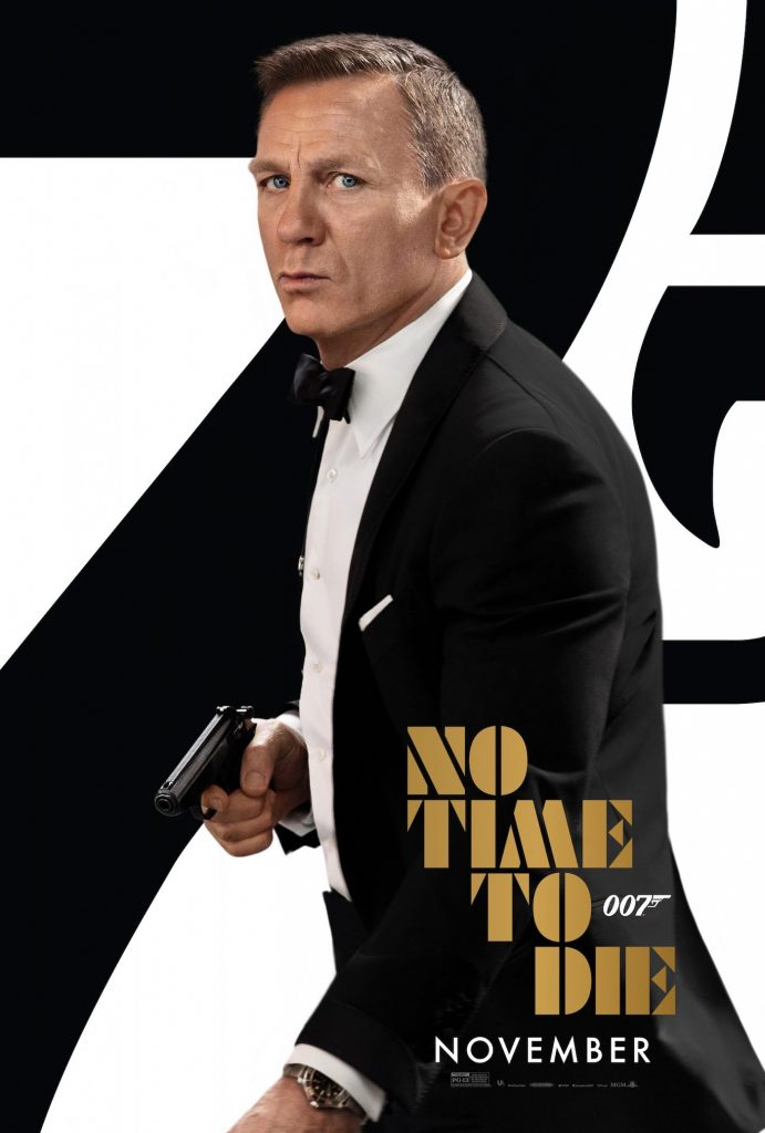"""""""No Time To Die"""" poster. Courtesy MGM"""