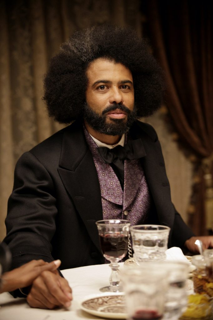 "Daveed Diggs as Frederick Douglass in THE GOOD LORD BIRD, ""Mister Fred"". Photo Credit: William Gray/SHOWTIME."