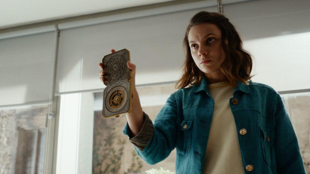 Dafne Keen. Photograph by Simon Ridgway/HBO