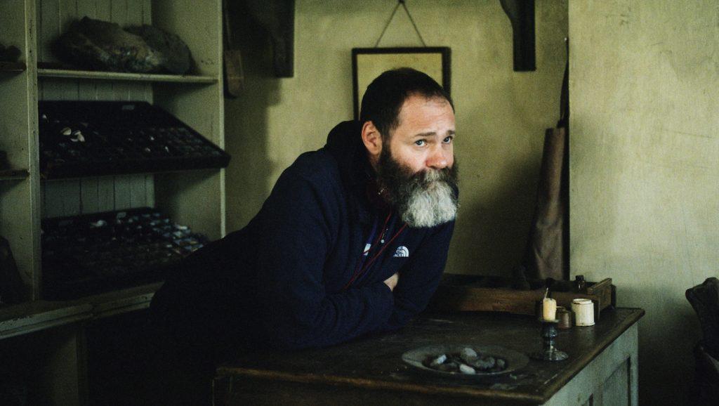 Francis Lee on set. photograph by Agatha A. Nitecka/RÅN studio
