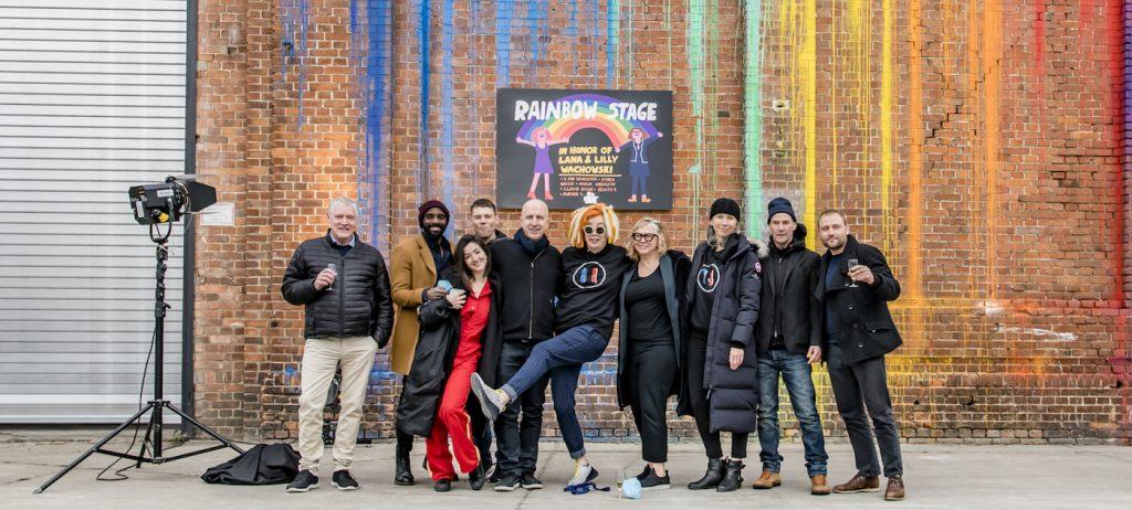 Celebrating the opening of the Rainbow Stage. Courtesy Studio Babeslberg.