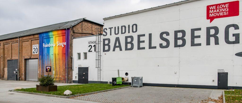 Studio Babelsberg's Rainbow Stage. Courtesy Studio Babeslberg.