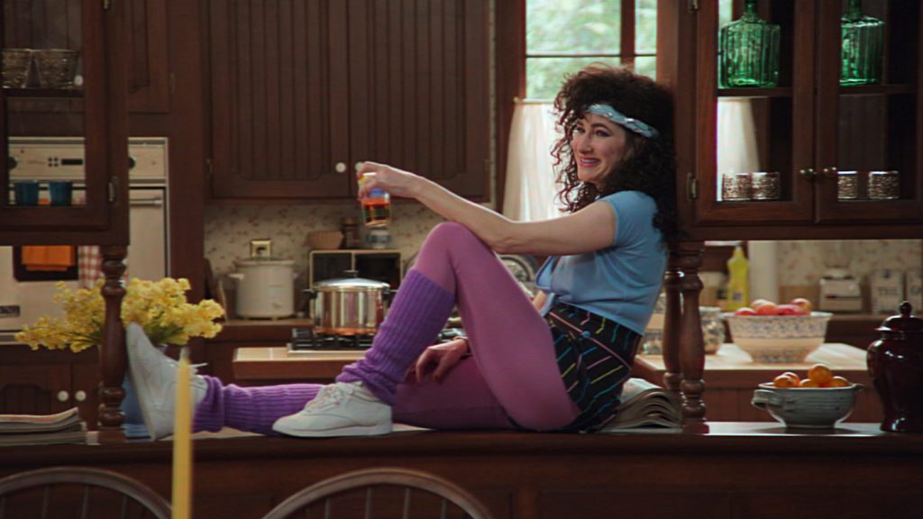 Kathryn Hahn in 'WandaVision.' Courtesy Disney+