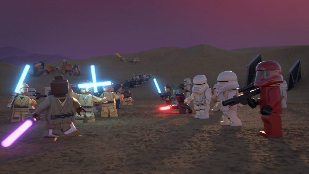 LEGO Star Wars Holiday Special. Courtesy Disney+