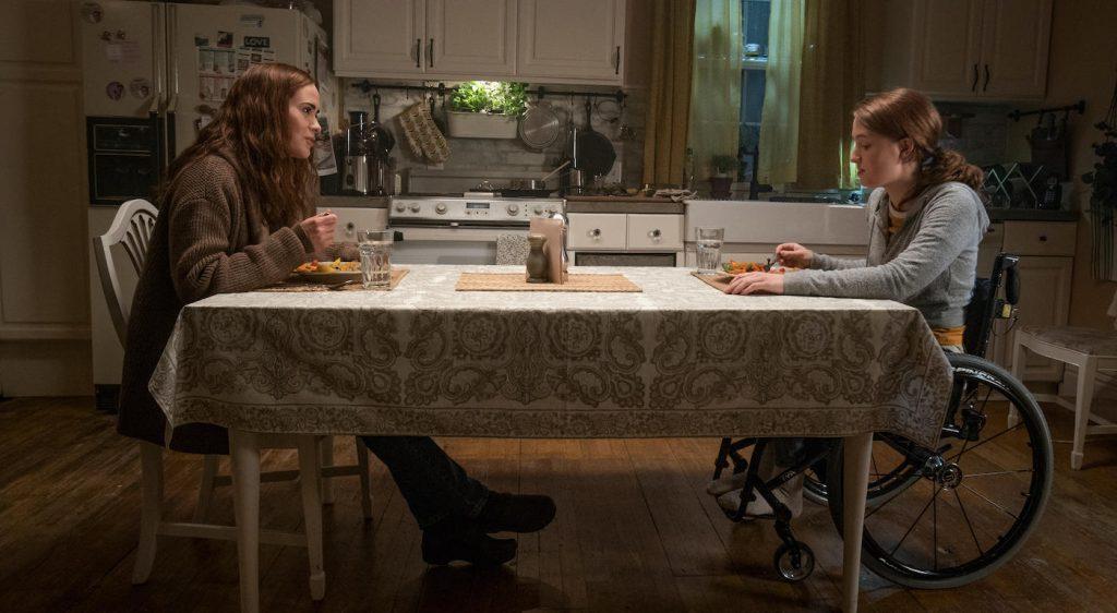 Diane (Sarah Paulson) and Chloe (Kiera Allen), shown. (Photo by: Allen Fraser/Hulu)